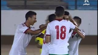 الاولمبي المغربي والمصري 3-3