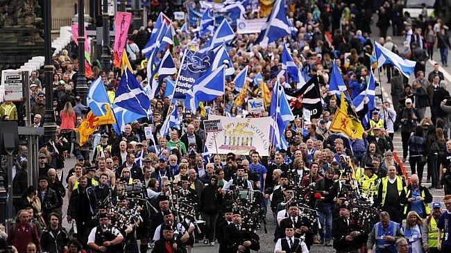 لندن تحبس أنفاسها قبل استفتاء استقلال اسكتلندا