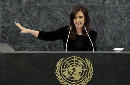 قطع بث كلمة رئيسة الارجنتين لدفاعها عن الإسلام