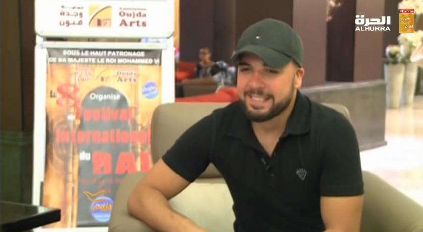 مغني الراي الشاب الدوزي على الحرة