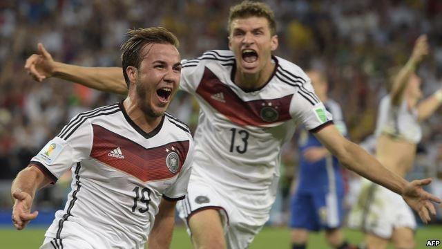 الأرجنتين تواجه ألمانيا  لرد الاعتبار بقيادة مارتينو