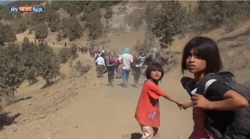 فرار مئات الإيزيديين العراقيين إلى تركيا