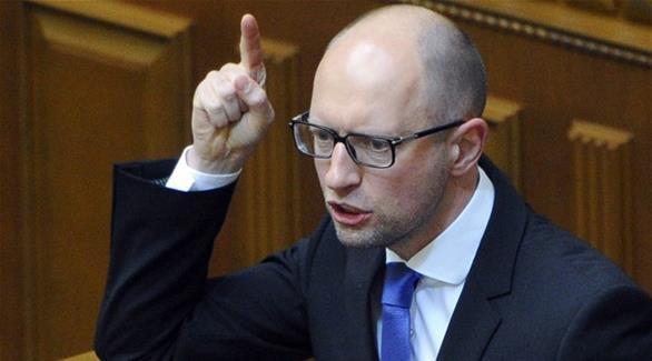 رئيس وزراء أكرانيا يتهم الرئيس الروسي