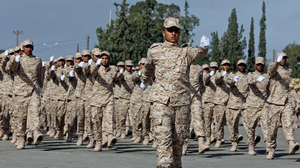 تخرج 99 ضابطا ليبيا من الأردن