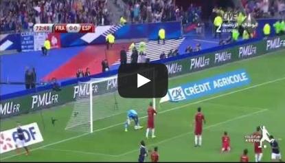 فرنسا واسبانيا 1-0