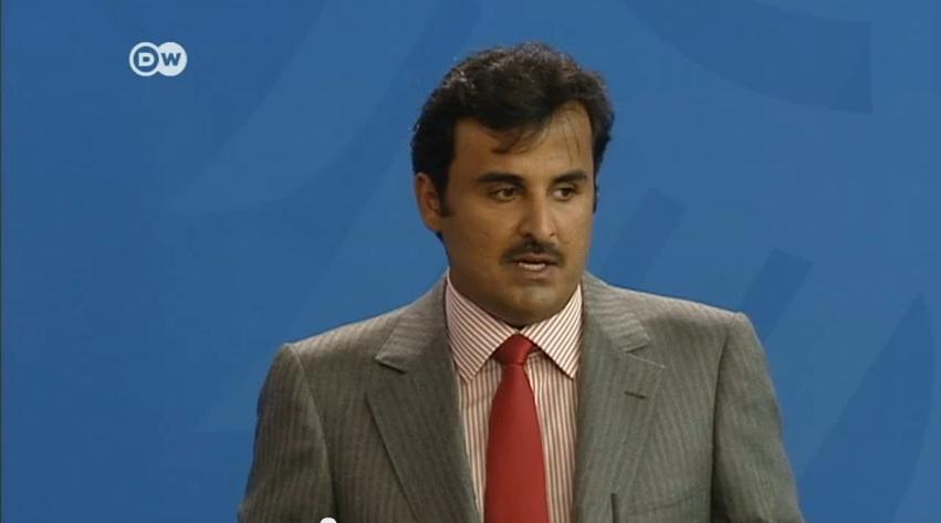 أمير قطر ينفي تمويل بلاده لجماعات متطرفة