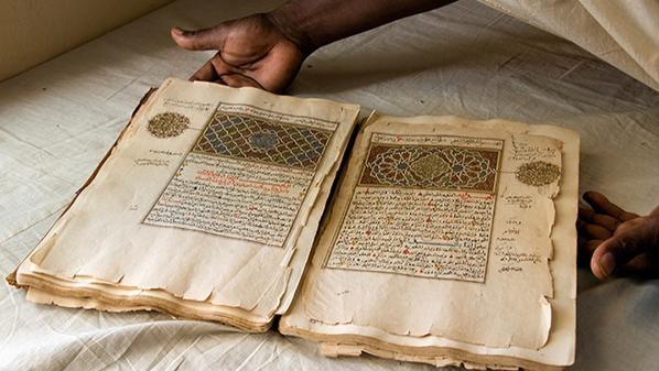 40 ألف مخطوطة موريتانية فريسة