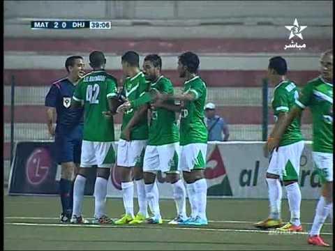 المغرب التطواني والدفاع الجديدي 5-1