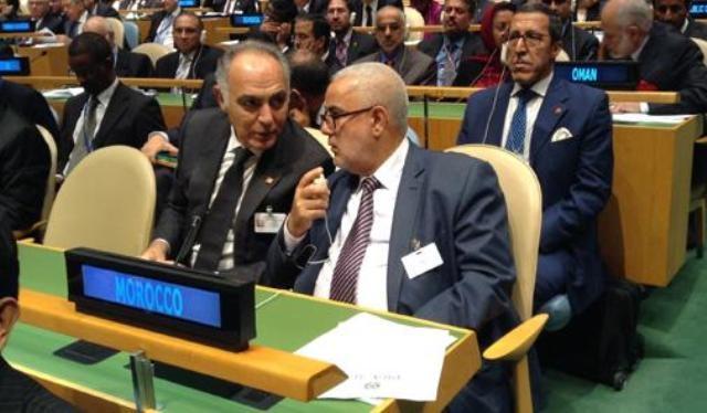 عبد الإله بنكيران يرأس الوفد المغربي في الجلسة الافتتاحية للجمعية العامة للأمم المتحدة