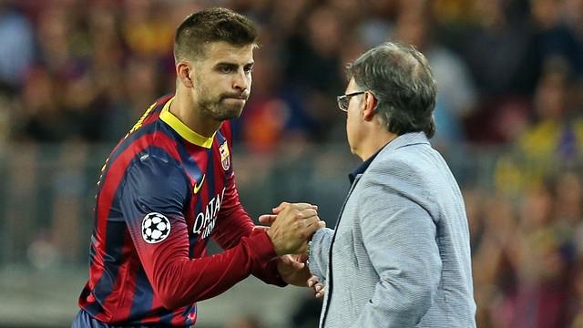 بيكيه يرغب في الرحيل عن برشلونة