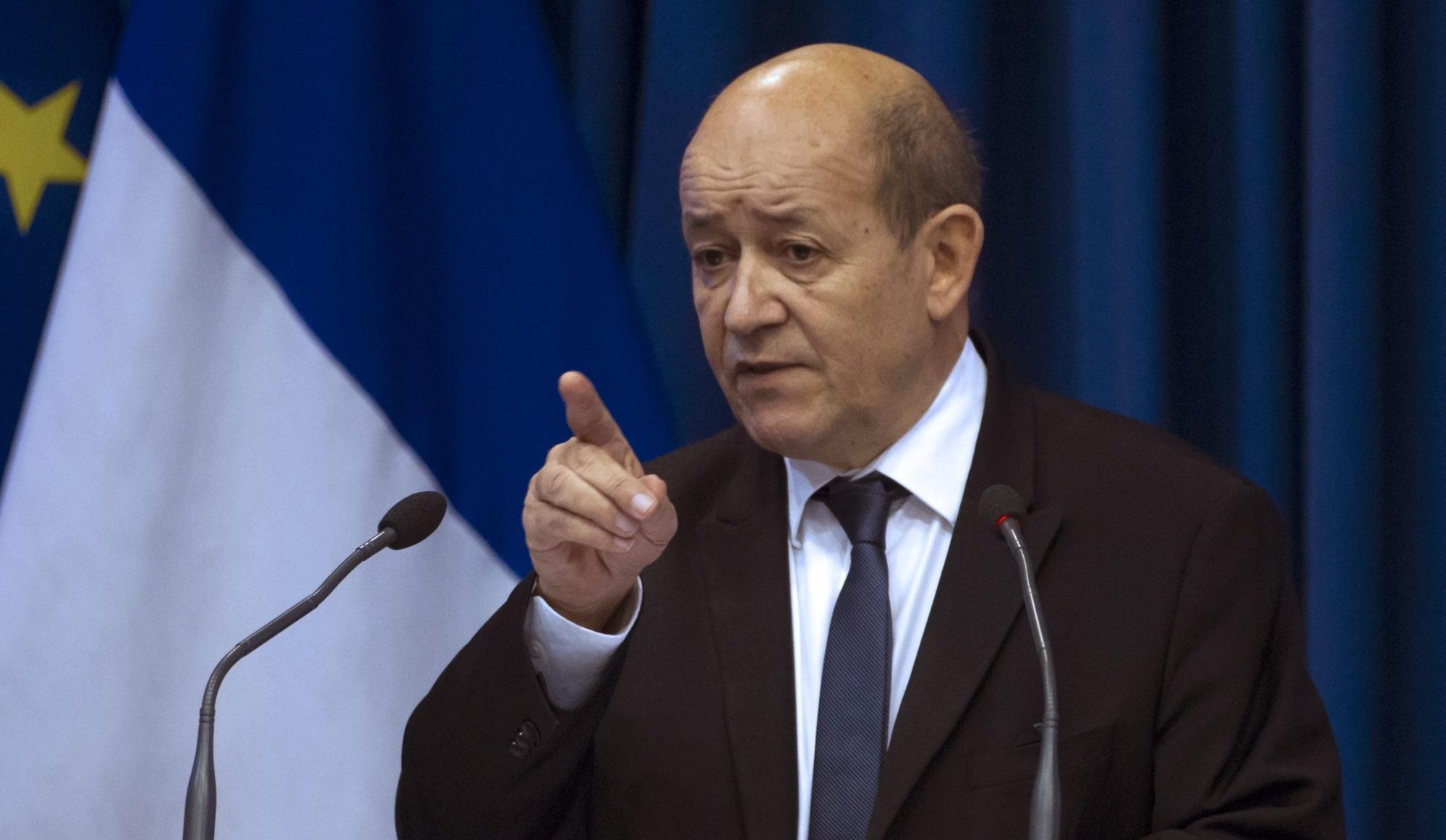وزير الدفاع الفرنسي: