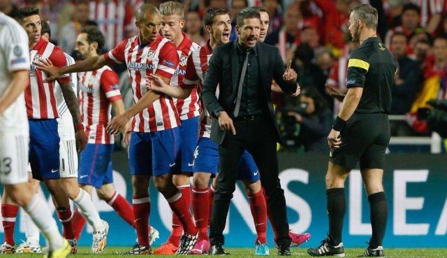 الأتلتيكو  يطيح بالريال في ديربي مدريد