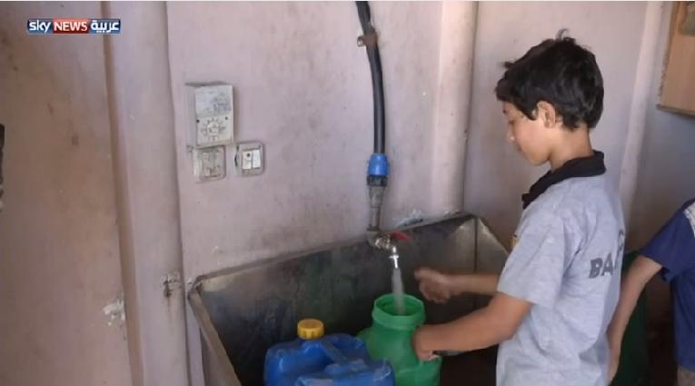 معاناة سكان غزة مع نقص المياه