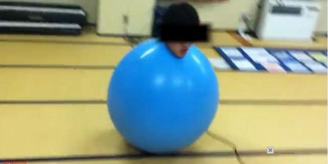 ياباني يتحول إلى بالون ضخم في حفل توديع العزوبية!