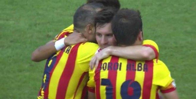 برشلونة  بيلباو 2-0