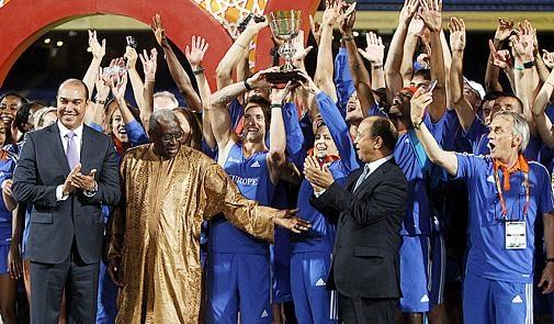 منتخب أوروبا يتوج بطلا لكأس القارات
