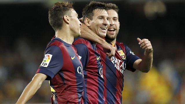 برشلونة يحقق فوزا صعبا أمام فياريال
