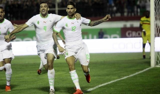 المنتخب الجزائري يفوز بصعوبة على مالي