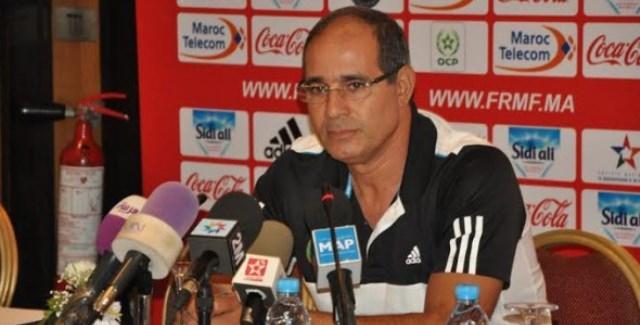 الزاكي راض على أداء لاعبي المنتخب المغربي