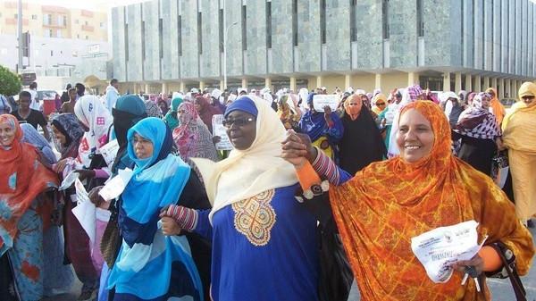 ناشطون يحيون اليوم العالمي للسلام بالعاصمة نواكشط
