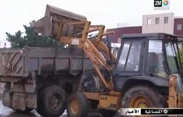 فيضانات تجتاح بعض المناطق في المغرب