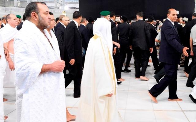 الملك محمد السادس يدعو  26 ألف حاج وحاجة لأن يكونوا في المستوى المطلوب منهم في هذا الموسم الديني الحافل