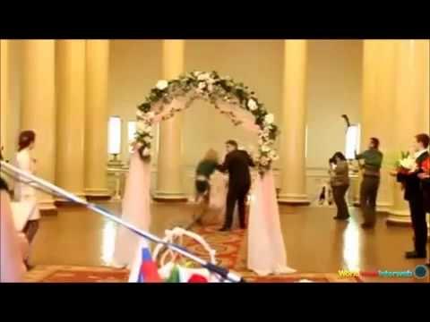 مواقف مضحكة للعروس في يوم الزفاف