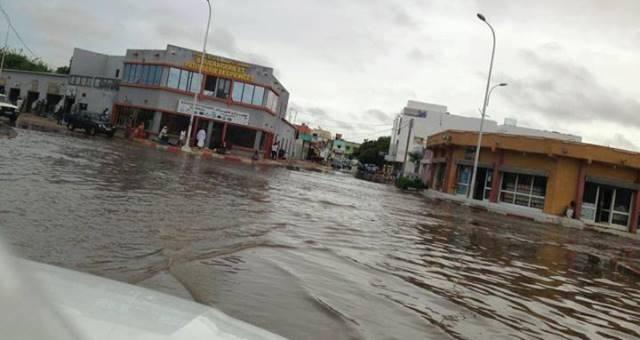 الأمطار تجتاح العاصمة نواكشوط ومعظم ولايات موريتانيا