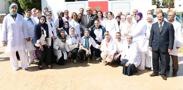 العاهل المغربي يعطي الانطلاقة الرسمية للموسم الدراسي ولتوزيع  مليون محفظة