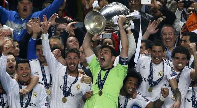 الريال  يحصل على جائزة افضل فريق بأوروبا