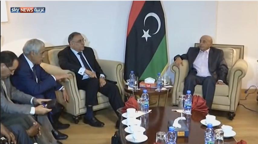 اجتماع دول جوار ليبيا بطبرق