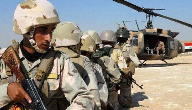 الجيش العراقي يشن هجمات عسكرية على داعش