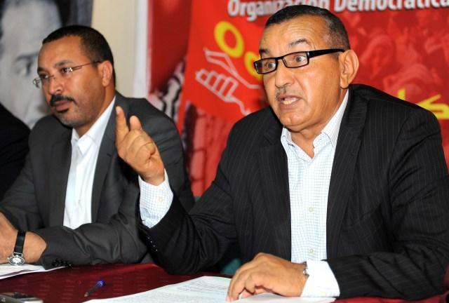 على لطفي: نخوض إضرابا وطنيا  ضد طريقة تعاطي الحكومة المغربية  مع الملفات الاجتماعية