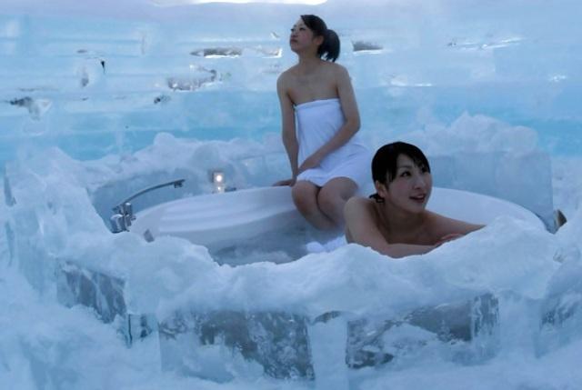 إليكم فوائد السباحة في الجليد...وحسناتها