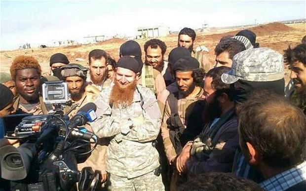 المقاتلون الأجانب والحرب على الإرهاب