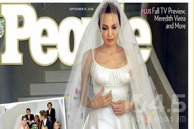أنجلينا جولى وبراد يبعان صور زفافهم ب 5 ملايين دولار