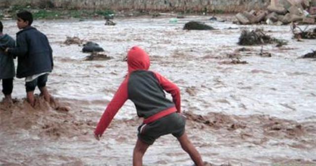 السيول تجرف أربعة أطفال في أحد وديان ورزازات