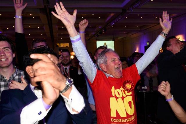 بريطانيا تتنفس الصعداء بعد استفتاء اسكتلندا