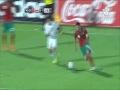 المنتخب المغربي والليبي 3-0