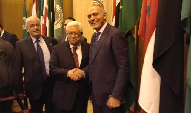 مزوار  يسلم رسالة من العاهل المغربي لأبو مازن ويجدد استعداد بلده  للإسهام في مؤتمر  إعمار غزة