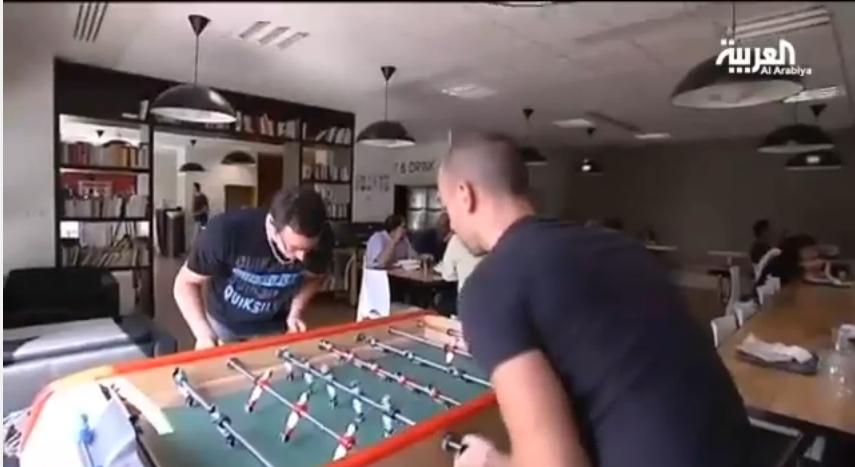 شركة فرنسية تشجع موظفيها على اللعب أثناء العمل