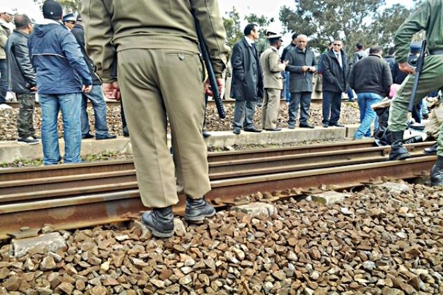 الحكم على 9 أشخاص في الرباط بالسجن 16 شهرا بتهمة عرقلة مرور القطارات