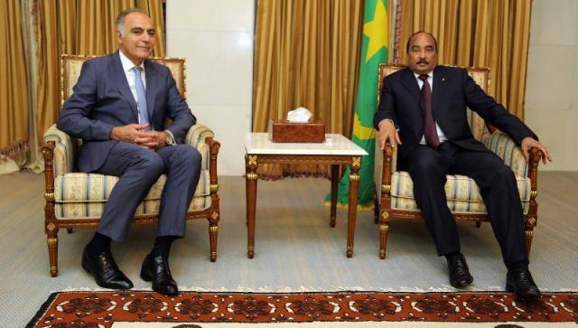 ولد عبد العزيز بعد استقباله لمزوار: المغرب يعتبر شريكا أساسيا لموريتانيا