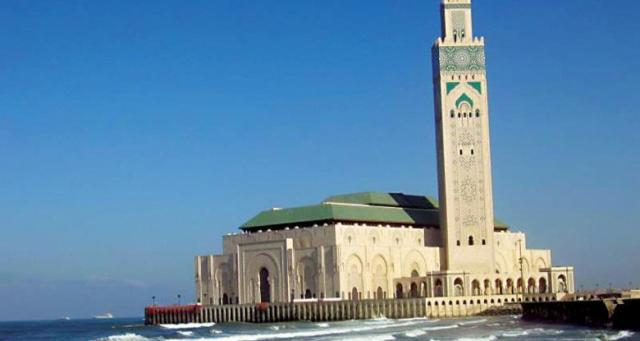 مسجد الحسن الثاني رابع أجمل مساجد العالم