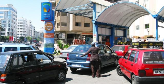 انخفاض أسعار بعض المواد النفطية  في المغرب غدا السبت