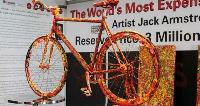 أغلى دراجة هوائية في العالم... بثلاثة ملايين دولار!