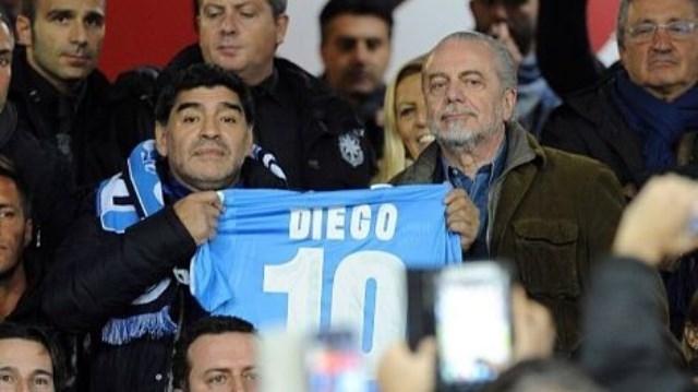 مارادونا وسيط لقطري يريد شراء نادي نابولي