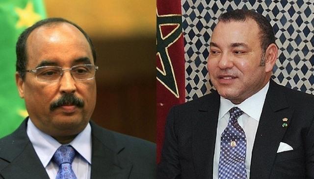 رسالة من الملك محمد السادس إلى الرئيس الموريتاني محمد ولد عبد العزيز