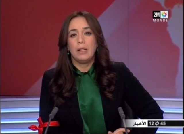 بصمة سميرة سيطايل في نشرات أخبار الإضراب في المغرب