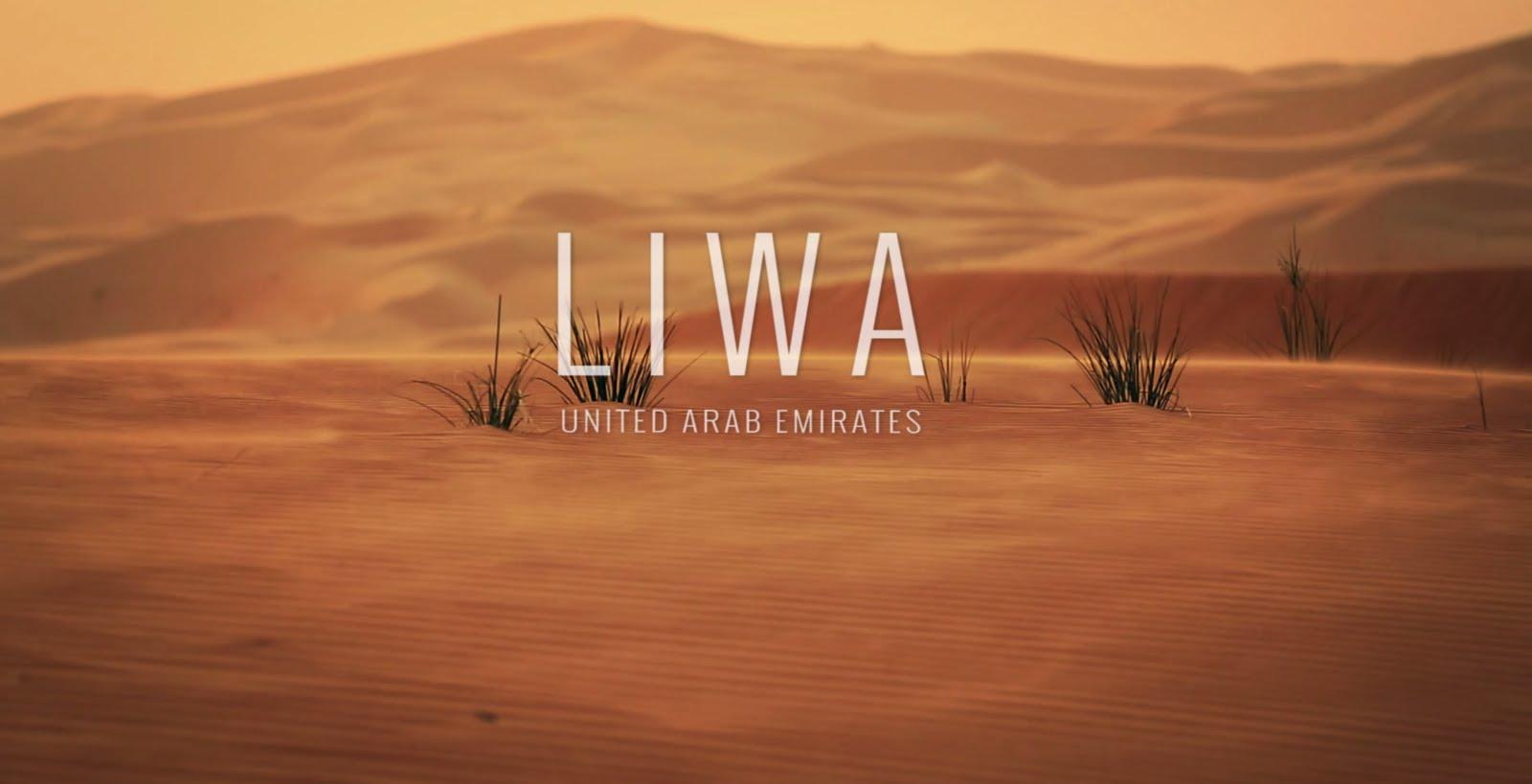 صحراء ليوا في الإمارات العربية